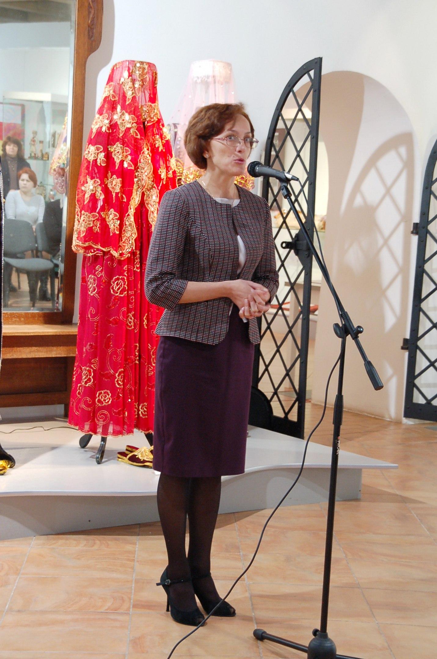 Выступление Ю.В.Евсеевой, генерального директора Вологодского государственного музея-заповедника.