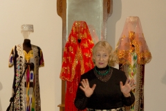 Выступление А.А.Глебовой, зав художественным отделом ВГМЗ.